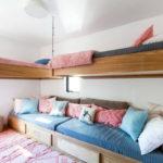 кровать-чердак подвесная