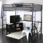 кровать-чердак в кабинет