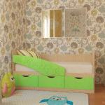 кровать дельфин детская декор фото