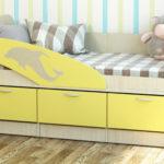 кровать дельфин детская декор