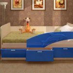 кровать дельфин детская идеи декор