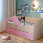 кровать дельфин детская идеи декора