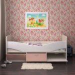 кровать дельфин детская интерьер