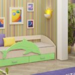 кровать дельфин детская идеи интерьер