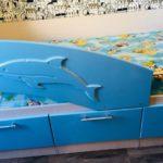 кровать дельфин детская виды дизайна