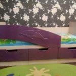 кровать дельфин детская фото дизайн