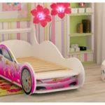 кровать-машинка для девочки