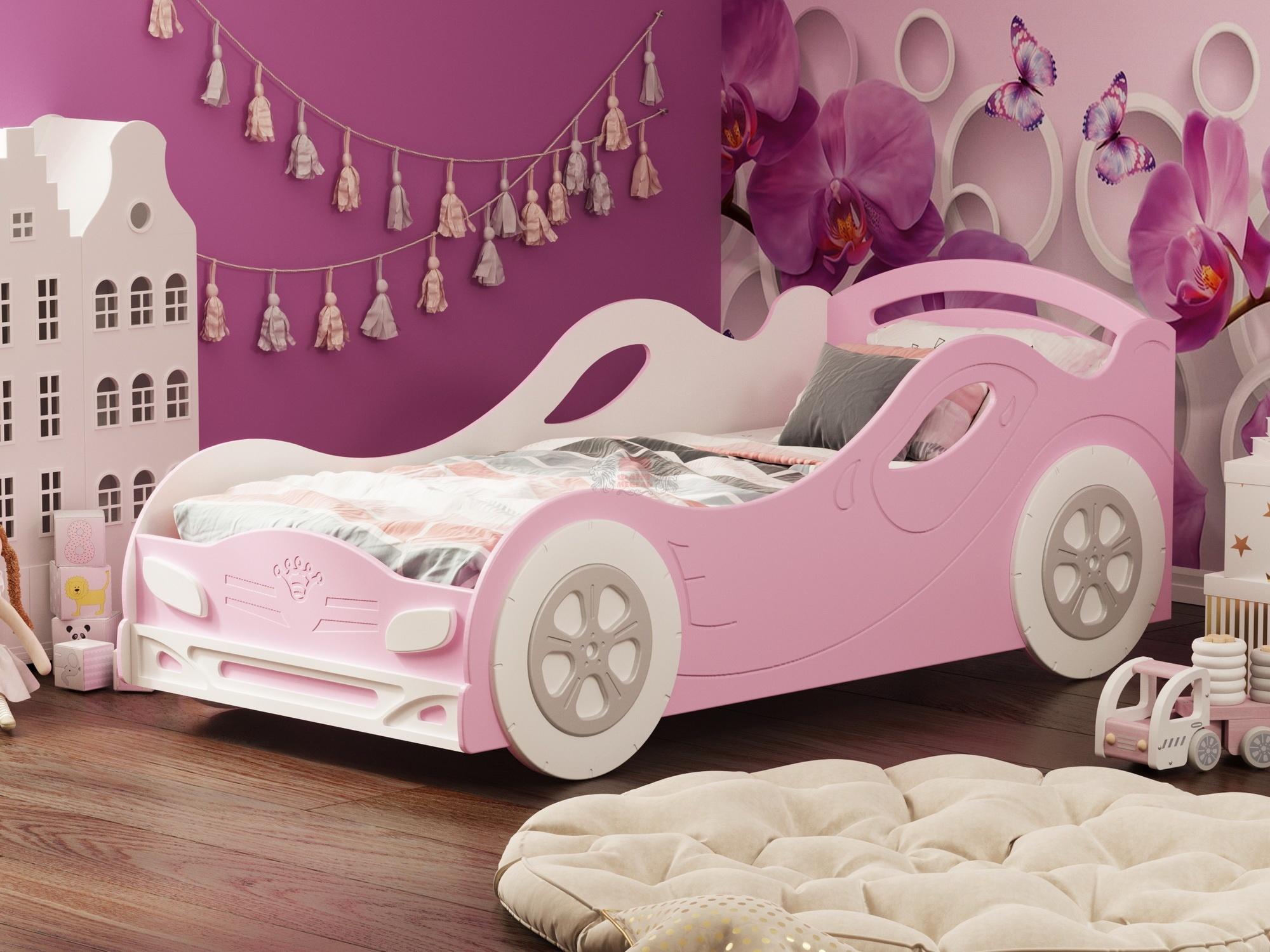 кровать из МДФ для девочек