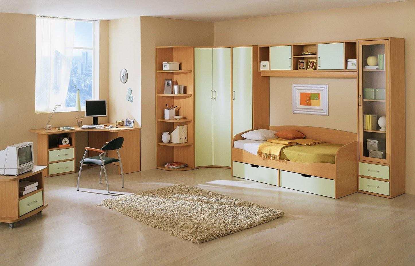 кровать для подростка из МДФ