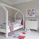 кровать-домик для детей белый