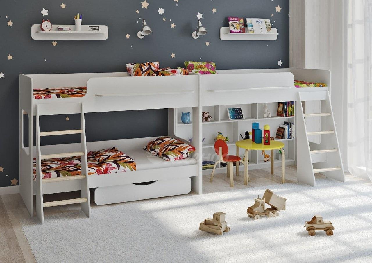 кровать-домик для детей для игр