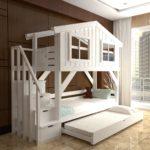 кровать-домик для детей с выдвижным ящиком
