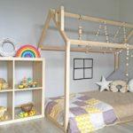 кровать-домик для детей со звездой