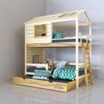 кровать-домик для детей с собакой
