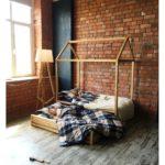 кровать-домик для детей для двоих