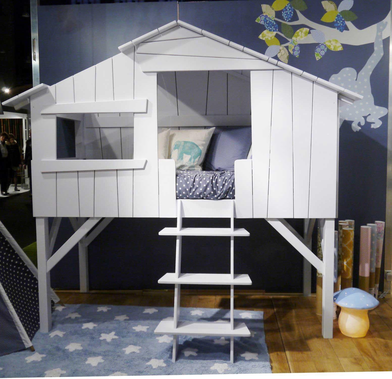 кровать-домик для детей дизайн