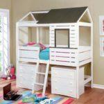 кровать-домик для детей из дсп