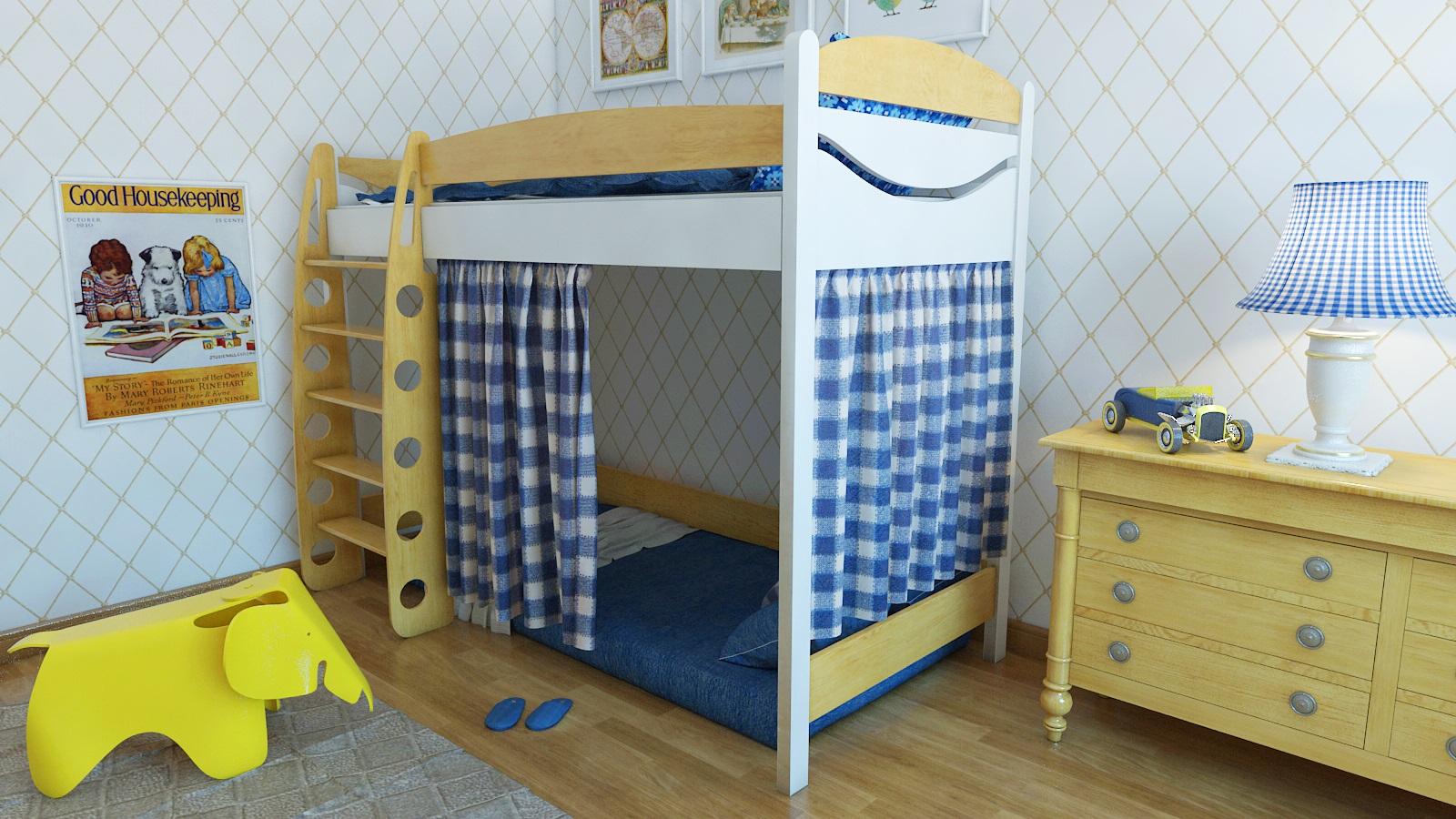 кровать-домик для детей бюджет