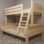 кровать-домик для детей дерево натуральное
