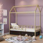 кровать-домик для детей без крыши