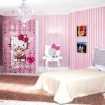 кровать для девочки китти