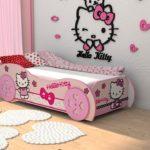 холоу китти кровать для девочки