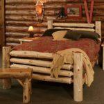 кровать из массива сосны идеи декора