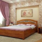 кровать из массива сосны варианты