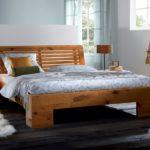 кровать из массива сосны виды фото