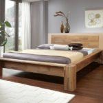 кровать из массива сосны виды дизайна