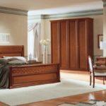 кровать из массива сосны дизайн
