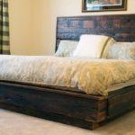 кровать из поддонов сплошная