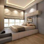 кровать-подиум со ступеньками
