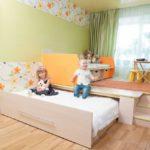 кровать-подиум детская