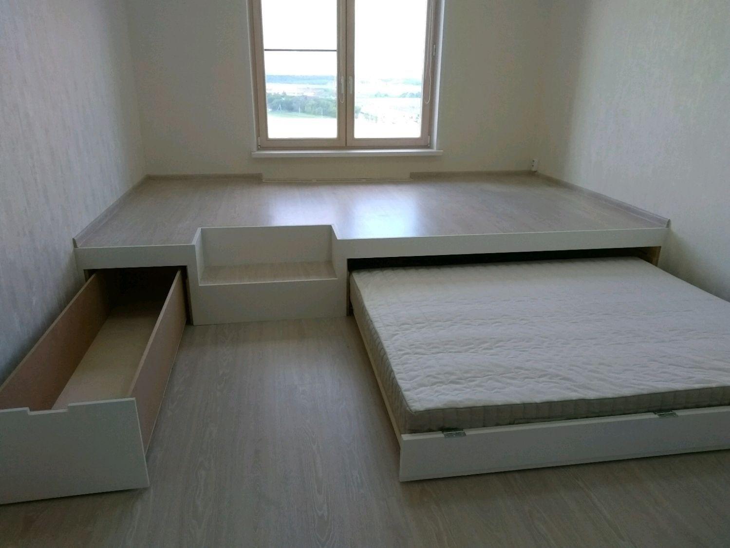 кровать подиум возвышение