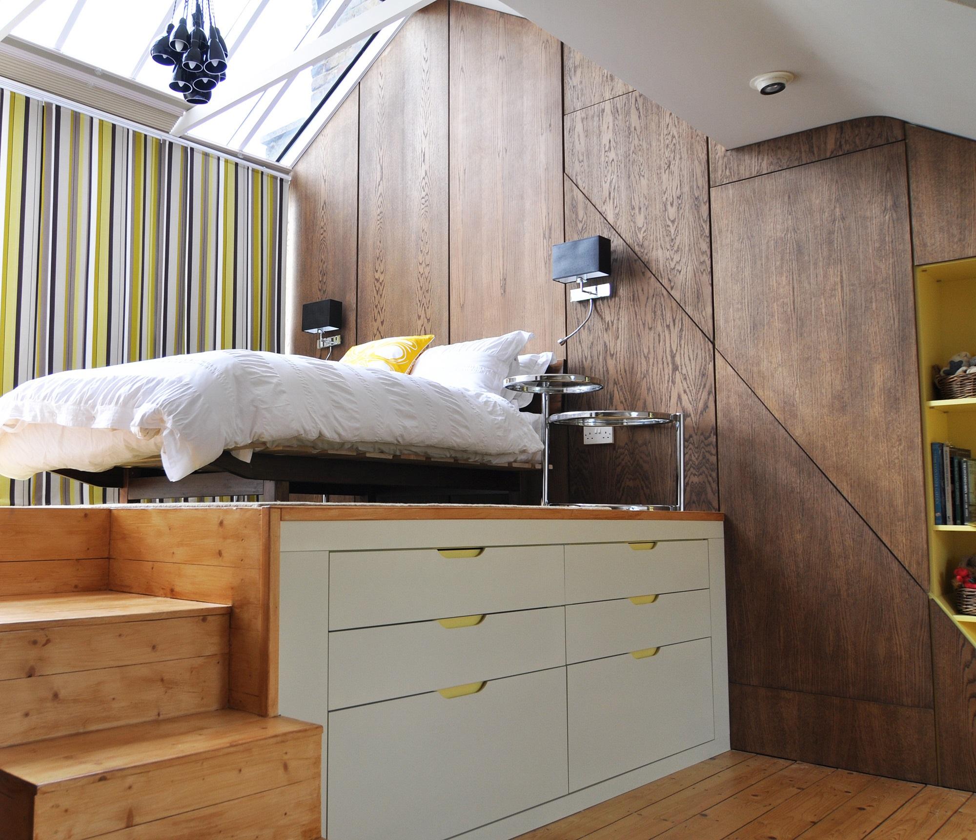 кровать подиум преимущества