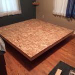 кровать-подиум из дсп