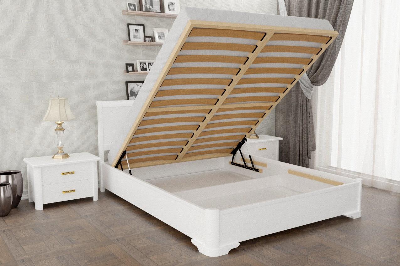 кровать с подъемным механизмом комбинированная