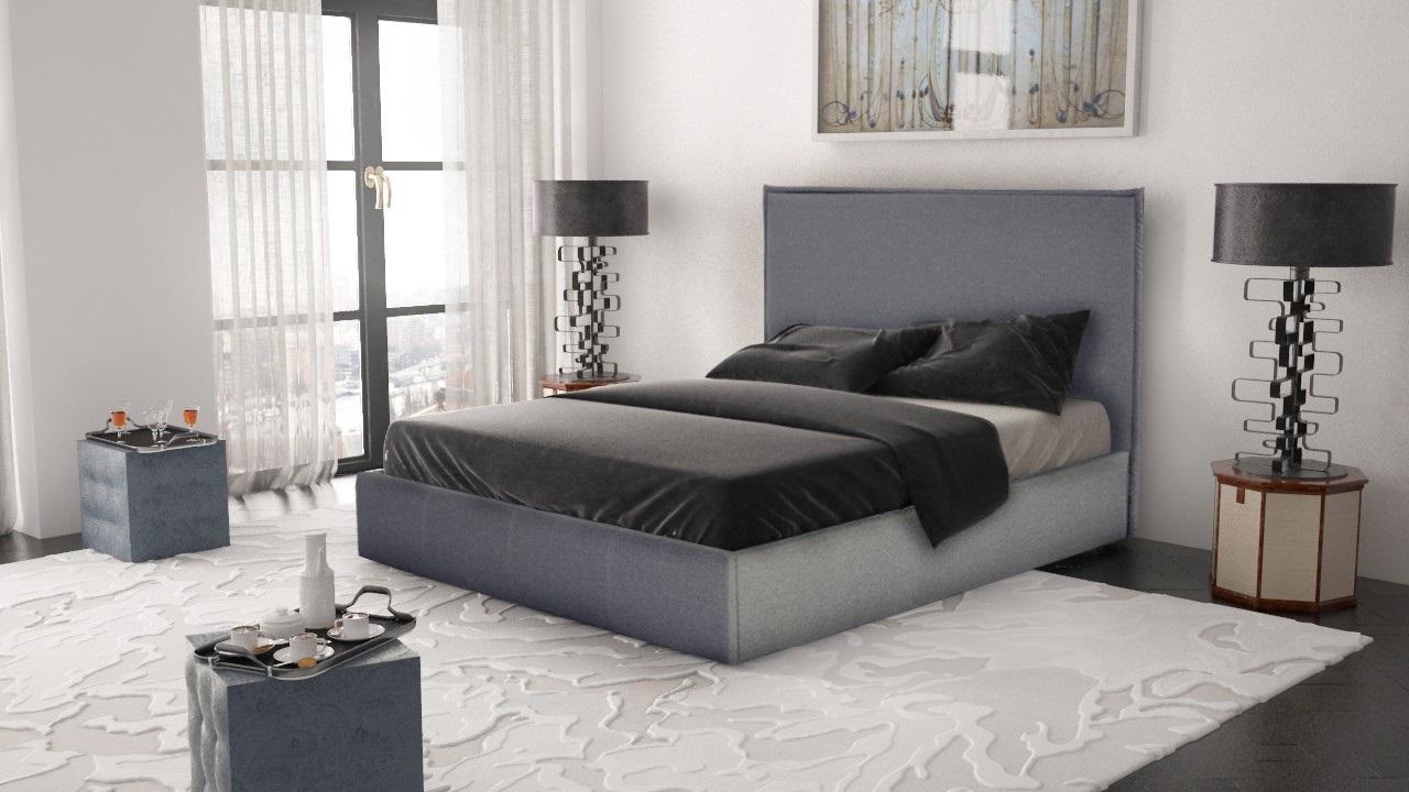 кровать с подъемным механизмом двуспальная