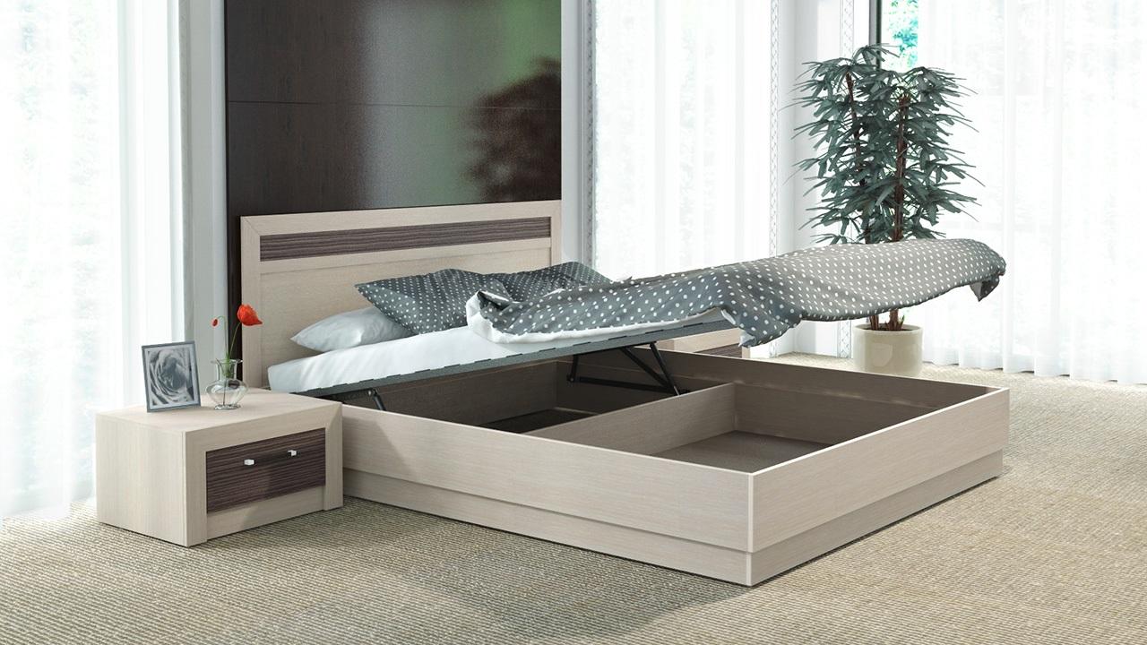 кровать с подъемным механизмом минусы