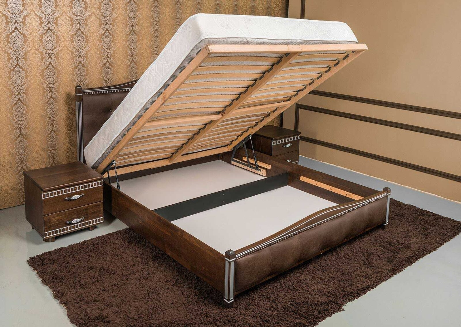 кровать с подъемным механизмом преимущества