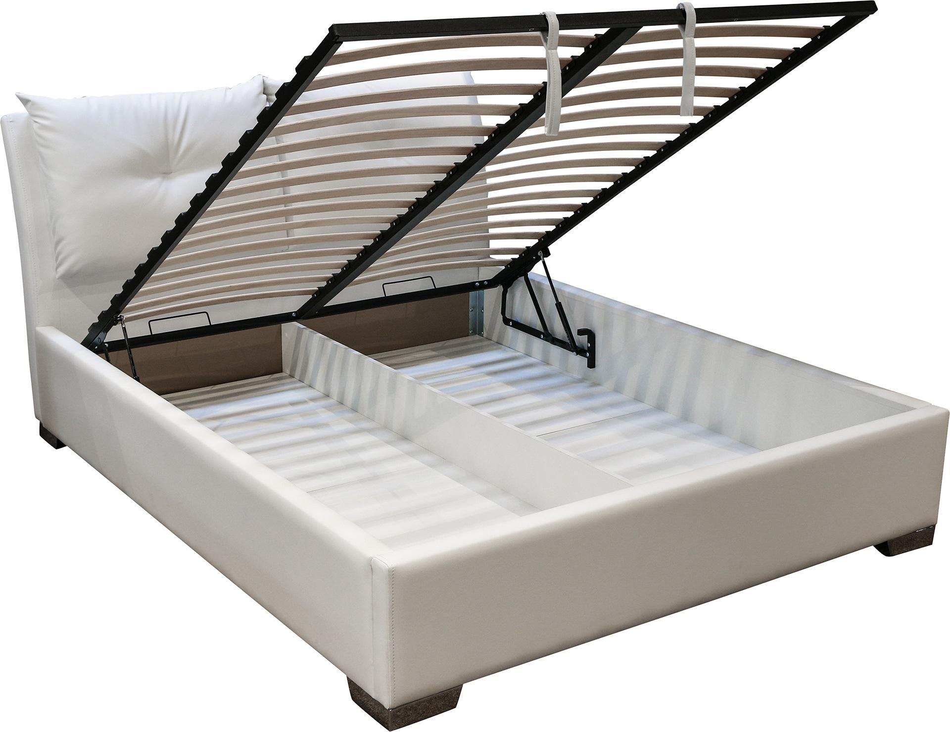кровать с подъемным механизмом на газовых амортизаторах