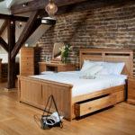 кровать с выдвижными ящиками для лофта