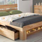 кровать с большим выдвижным ящиком