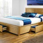вариант кровати с выдвижными ящиками