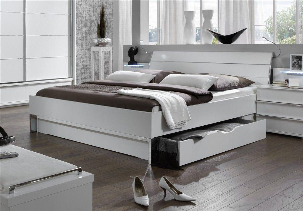 кровать со шкафчиками в стиле Модерн