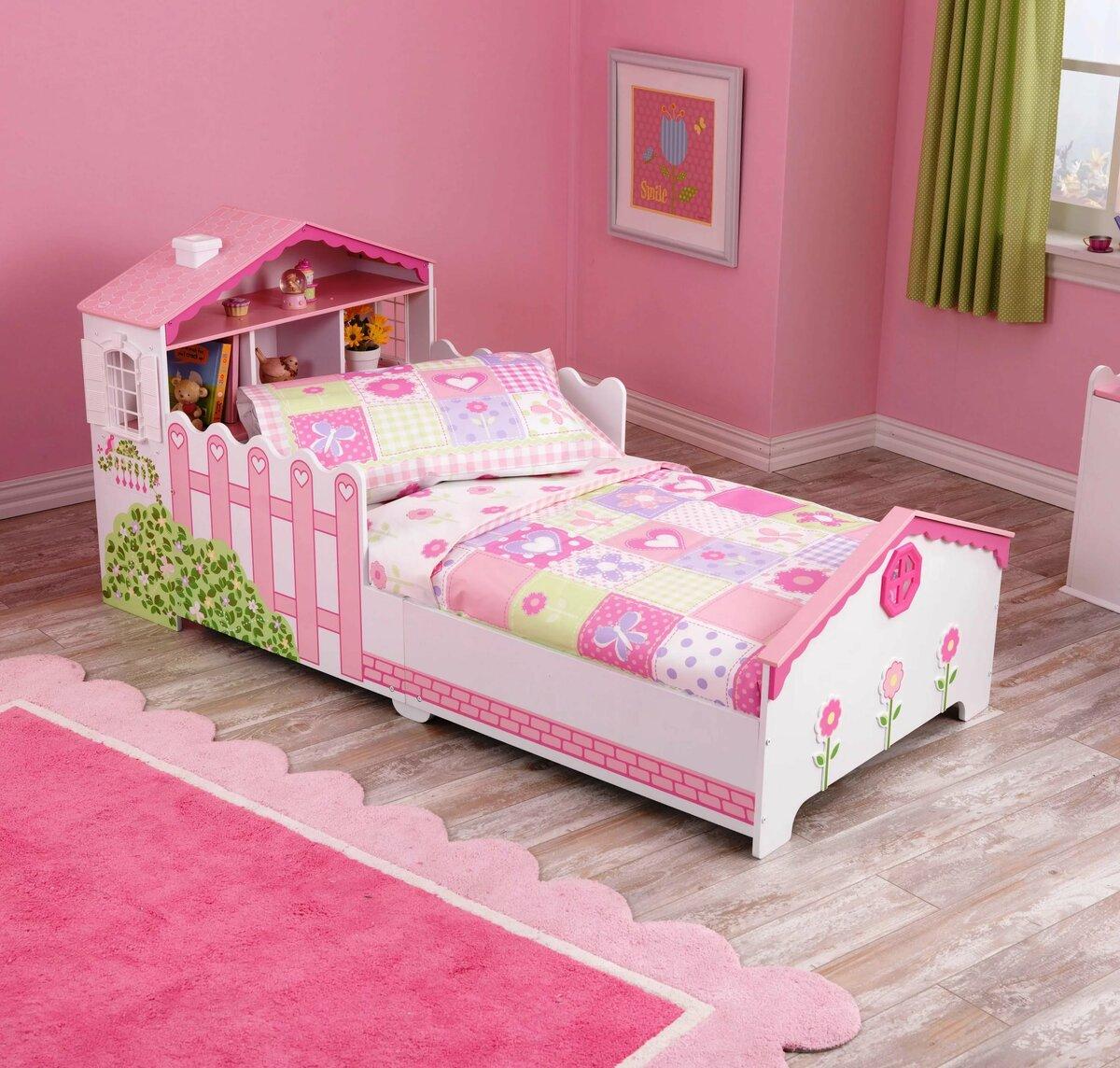 кровать в комнату для девочки