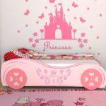 кровать для девочки-принцессы