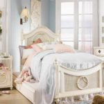 высокая кровать для девочки