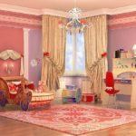карета-кровать для девочки в большую комнату